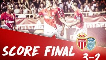 «Монако» вырвал победу у «Труа», уступая со счётом 0:2