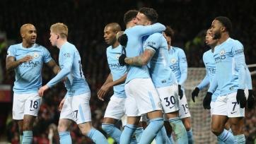 «Манчестер Сити» победил на «Олд Траффорд»