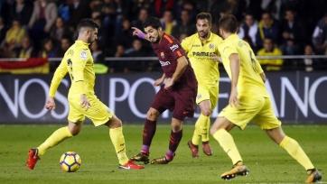 «Барселона» на выезде победила «Вильярреал»