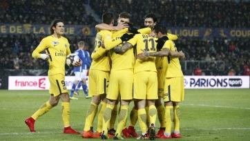 ПСЖ переиграл «Страсбург» и вышел в 1/4 финала Кубка Франции