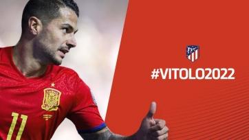 Витоло: «Надеюсь оправдать доверие «Атлетико» и его болельщиков»