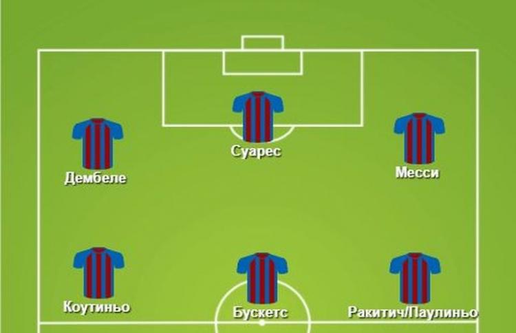 Барселона футбольный клуб схема игры