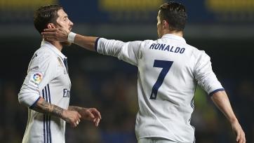 Пять футболистов «Реала» пошли на конфликт с Роналду