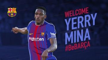 Официально: Йерри Мина перешёл в «Барселону»