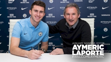 Официально: Лапорт – игрок «Манчестер Сити» (видео)