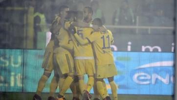 «Ювентус» выиграл в первом полуфинальном матче с «Аталантой»