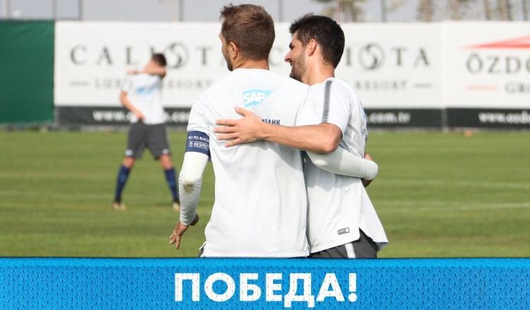 «Зенит» победил «Стумбрас»