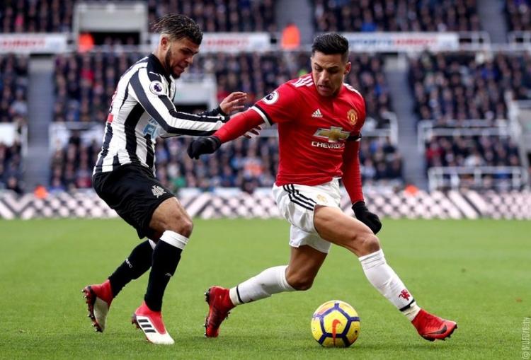 «Манчестер Юнайтед» на выезде проиграл «Ньюкаслу»