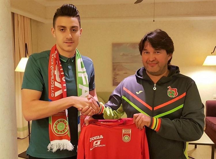 Защитник бухарестского «Динамо» перешёл в «Уфу»