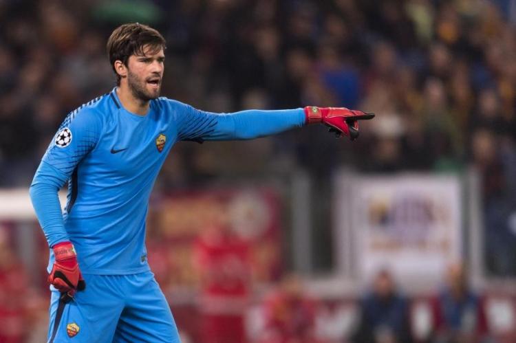 «Рома» назвала «Ливерпулю» стоимость Алиссона