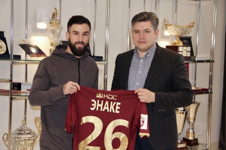 «Рубин» подписал румынского игрока Энаке