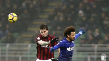 «Милан» и «Лацио» разошлись миром