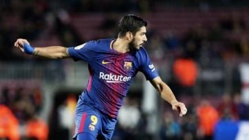 Суарес принёс победу «Барселоне» над «Валенсией»