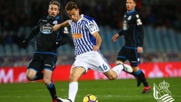 «Реал Сосьедад» наколотил 5 голов в ворота «Депортиво»
