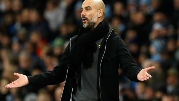 Гвардиола сообщил, что у «Манчестер Сити» не хватает игроков на заявку