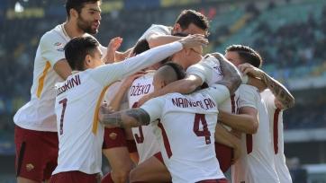 «Рома» в меньшинстве переиграла «Верону»