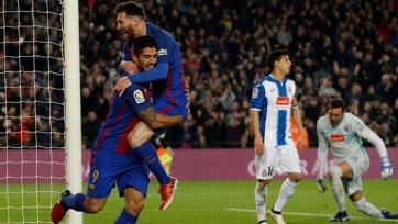 «Эспаньол» - «Барселона». Стартовые составы команд