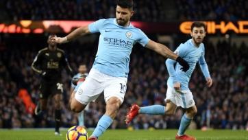 «Манчестер Сити» крупно победил «Лестер», Агуэро сделал покер
