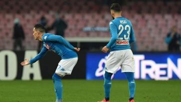 «Наполи» отправил четыре мяча в ворота «Лацио»