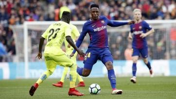«Барселона» не смогла забить «Хетафе»
