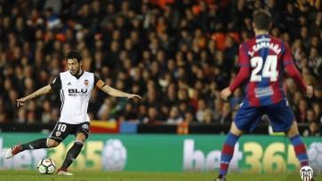 «Валенсия» уверенно победила «Леванте»