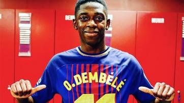 Усман Дембеле пропустил тренировку «Барселоны»