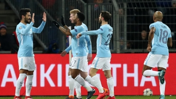 «Манчестер Сити» без проблем разобрался с «Базелем»