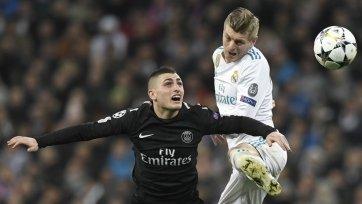 Верратти: «ПСЖ заслужил победу в игре с «Реалом»
