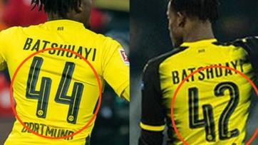 Стало известно, почему Батшуайи играет в «Боруссии» под двумя номерами