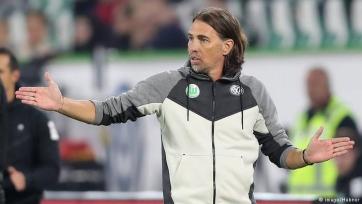 Главный тренер «Вольфсбурга» ушёл в отставку