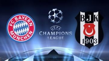 «Бавария» - «Бешикташ». Стартовые составы команд