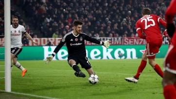 «Бавария» наколотила 5 мячей в ворота «Бешикташа»