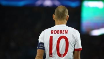 Роббен выразил недовольство тем, что остался в запасе на матч с «Бешикташем»