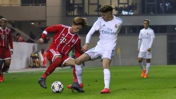 «Реал» переиграл «Баварию» и вышел в 1/4 финала юношеской Лиги УЕФА