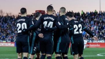«Реал» на выезде обыграл «Леганес»