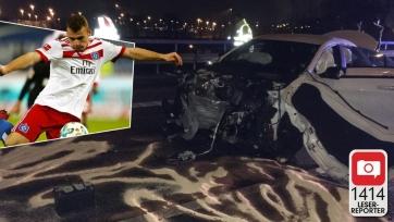 Игрок «Гамбурга» попал в аварию в пьяном состоянии