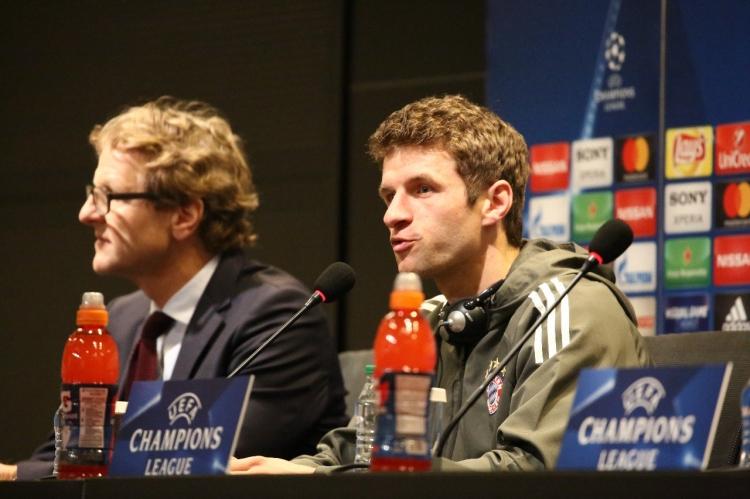 Мюллер дал комментарий в преддверии матча с «Бешакташем»