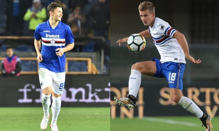 «Интер» ведёт переговоры с двумя игроками «Сампдории»