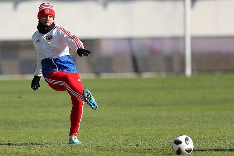 Камболов травмировался во время тренировки сборной России