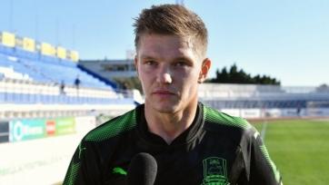 Шатов рассказал о дебютном матче за «Краснодар»