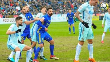 «Зенит» не смог переиграть на выезде «Ростов»