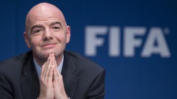 Стали известны зарплаты президентов ФИФА и УЕФА