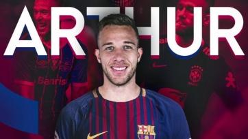 Артур прокомментировал свой трансфер в «Барсу»