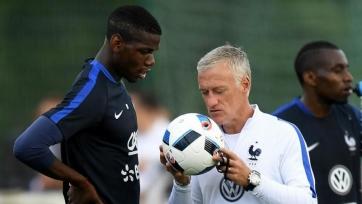 Дешам: «Погба не растерял свои футбольные способности»