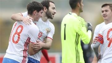 Молодёжная сборная России вырвала победу у Македонии, забив четыре гола