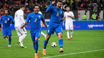 Сборная России крупно уступила команде Бразилии