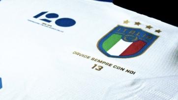 Сегодня итальянская сборная сыграет в особых футболках