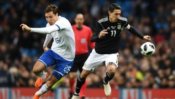 Аргентина отправила два безответных мяча в ворота итальянцев