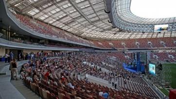 На матче Россия – Бразилия остались пустыми 22 тысячи мест