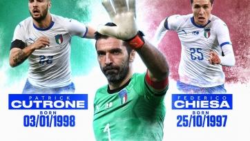 Кутроне ещё не родился, когда Буффон дебютировал за сборную Италии